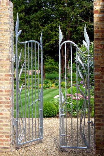 Steel Gate Design Metals Garden Art