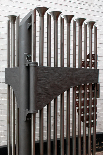 creative and unique stainless steel gates