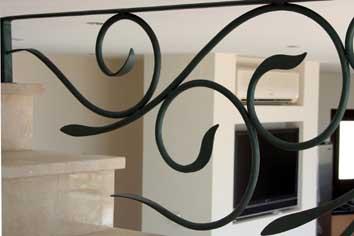 Contemporary stair balustrade