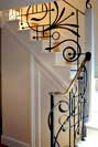 steel and wrought iron stair railings and balustrades