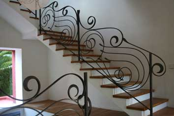 H47 Contemporary Stair Railings